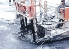 汚泥固化処理 (フジベトンの施工例)